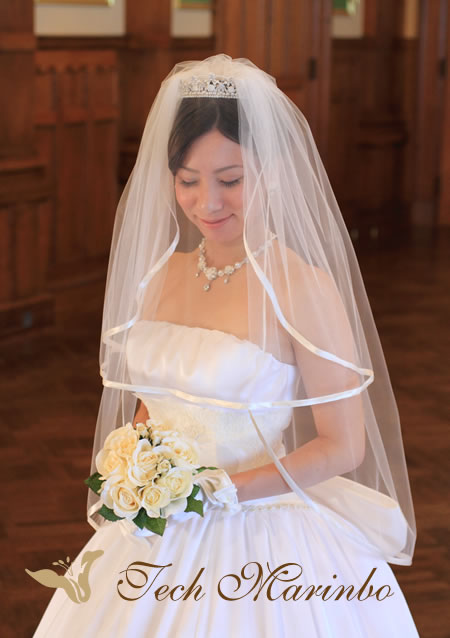 ウェディングドレス【美の祭典】ベール .jpg