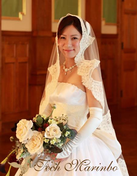 ウェディングドレス【美の祭典】マリアベールフロント.jpg